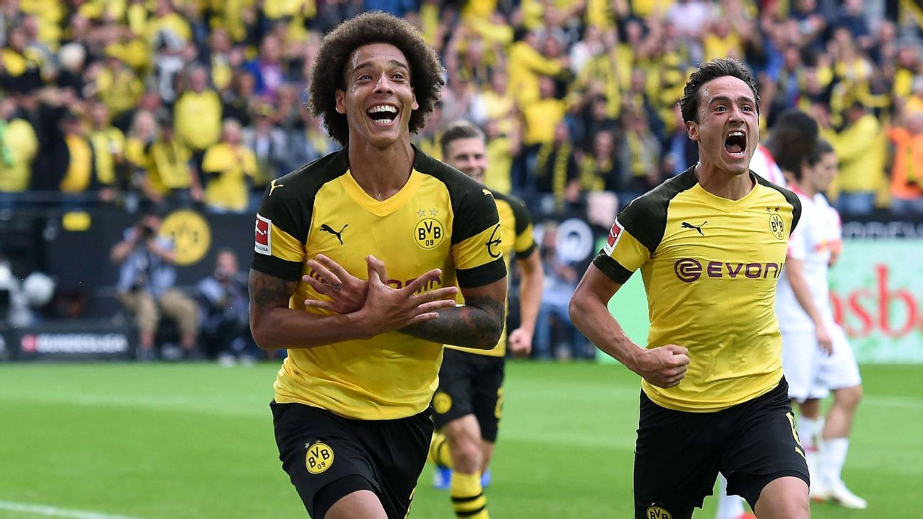 Axel Witsel has scored two pivotal goals already in his Dortmund tenure.