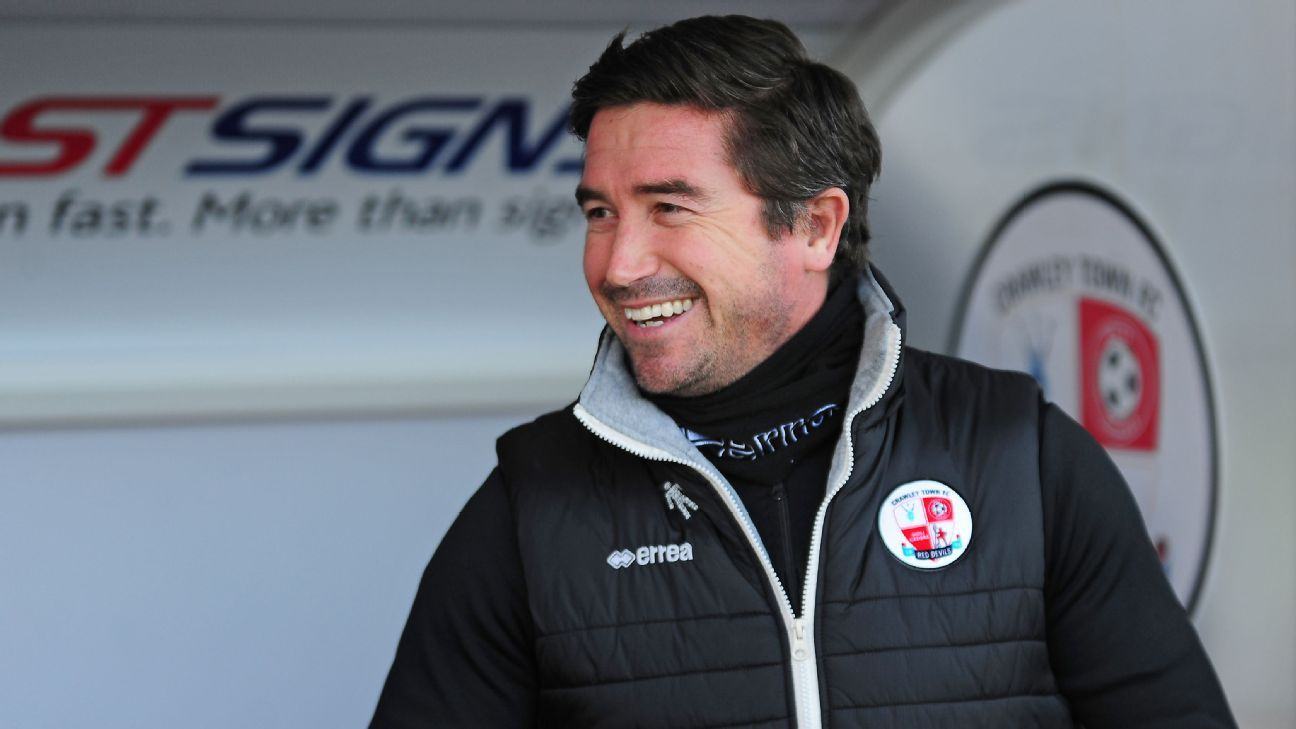 Crawley Town gave Harry Kewell his first job in senior management.