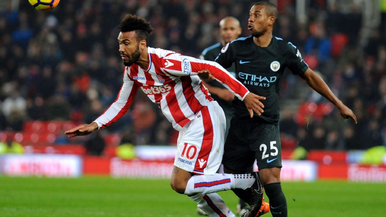 Eric Maxim Choupo-Moting scored five goals in 30 appearances with Stoke.
