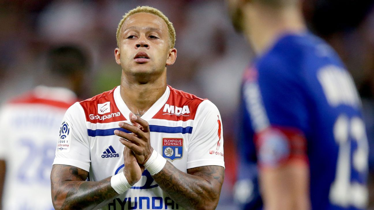 Memphis Depay joined Lyon from Manchester United.