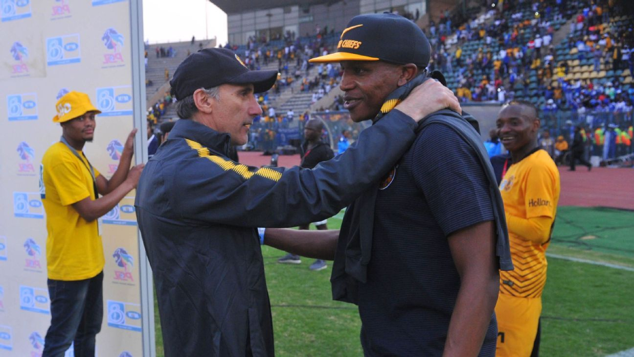 Kaizer Chiefs coach Giovanni Solinas will be desperate to get new signing Lebogang Manyama on the park as soon as possible to help his stuttering side