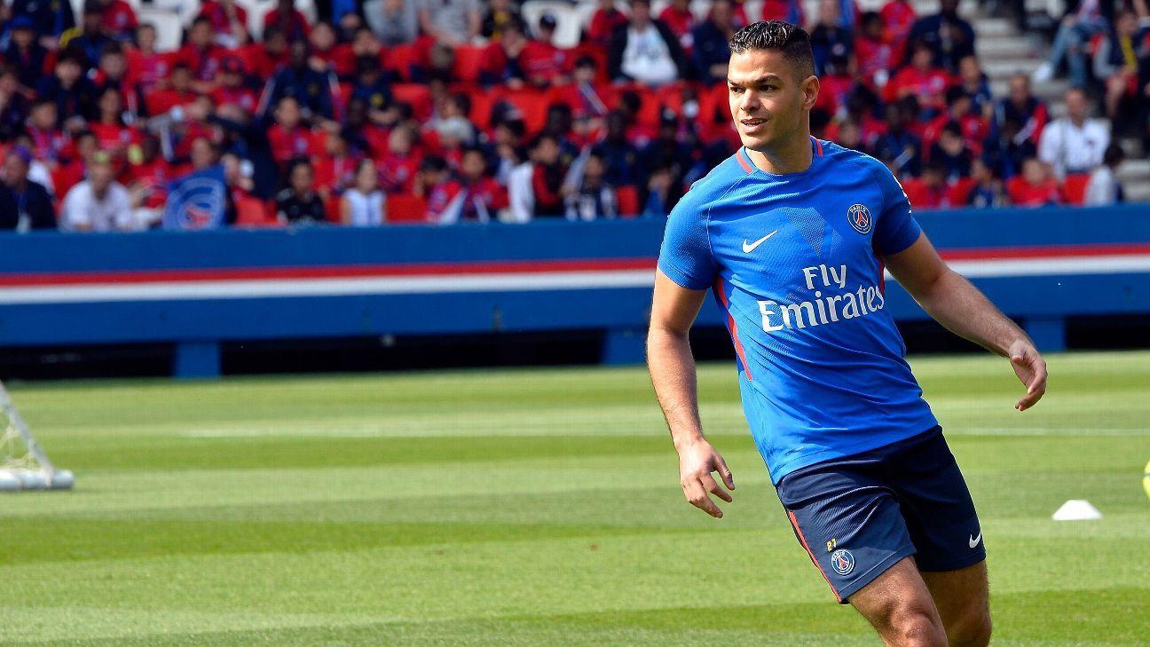 Hatem Ben Arfa did not make an appearance for Paris Saint-Germain last season.