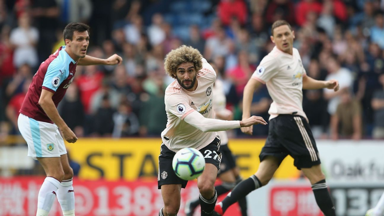 Marouane Fellaini has gone from whipping boy to key contributor at Man United.
