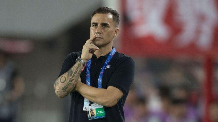Guangzhou Evergrande coach Fabio Cannavaro