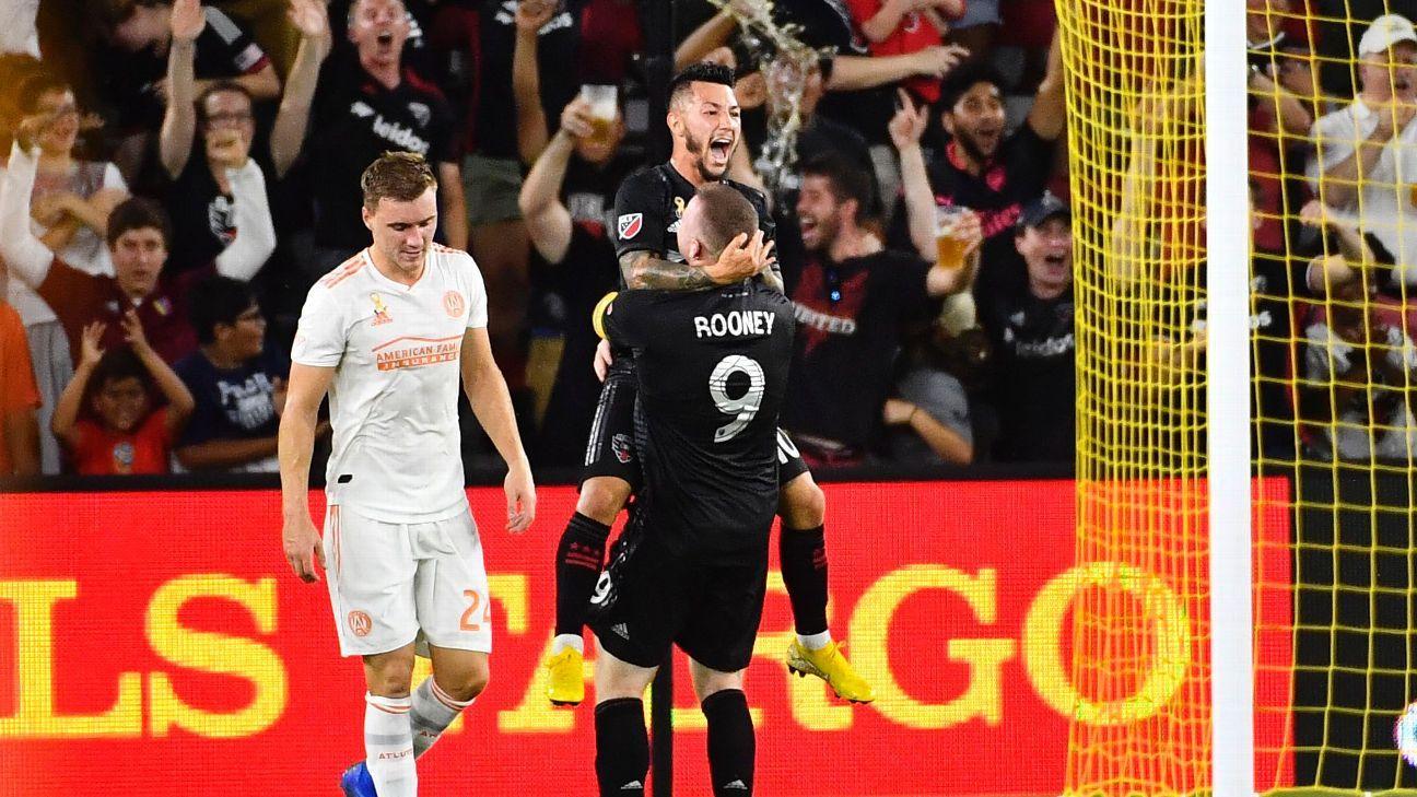Luciano Acosta nets brace, Wayne Rooney converts penalty as D.C. tops Atlanta