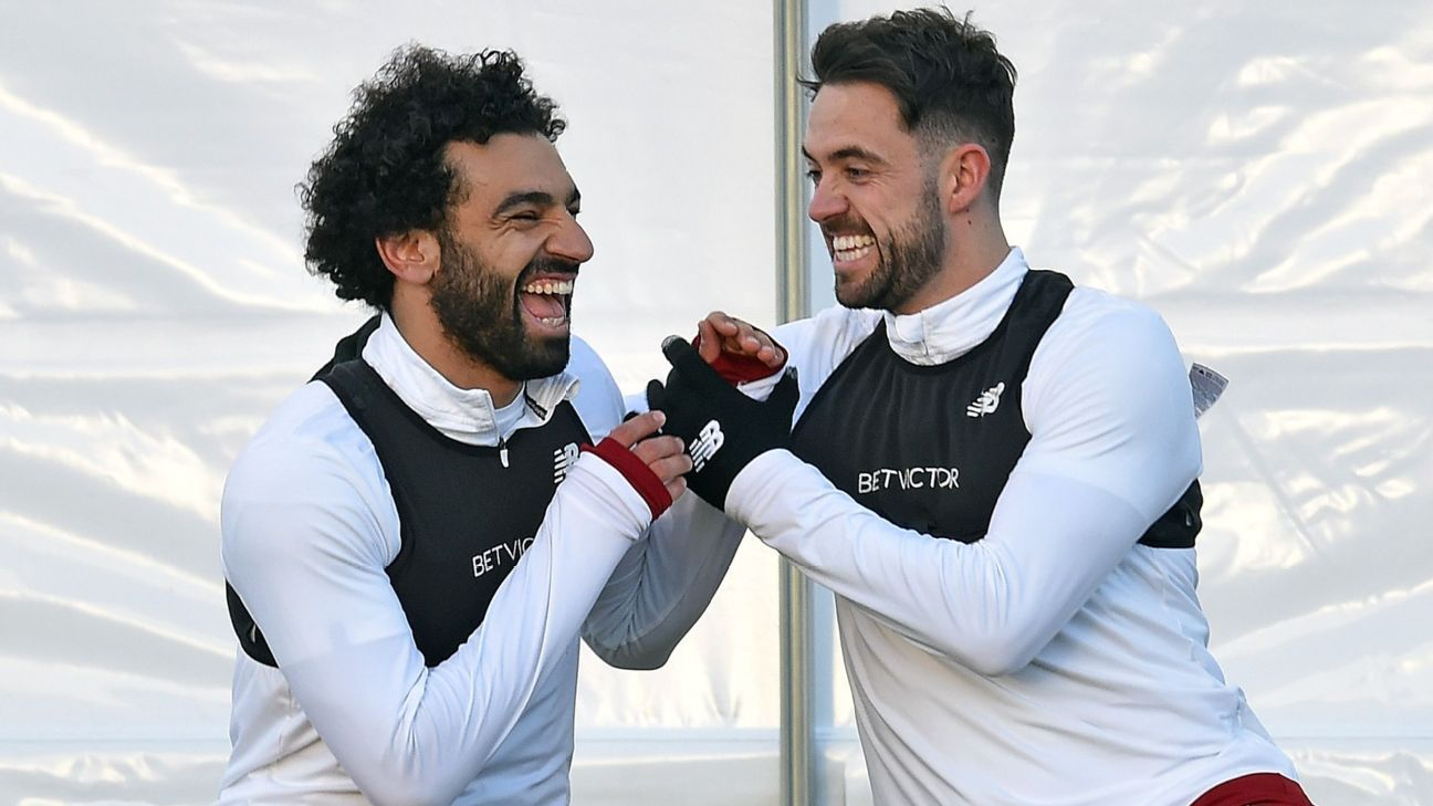 Danny Ings has described Mohamed Salah as 'a good friend' and said their bet on goals is 'a bit of a laugh'