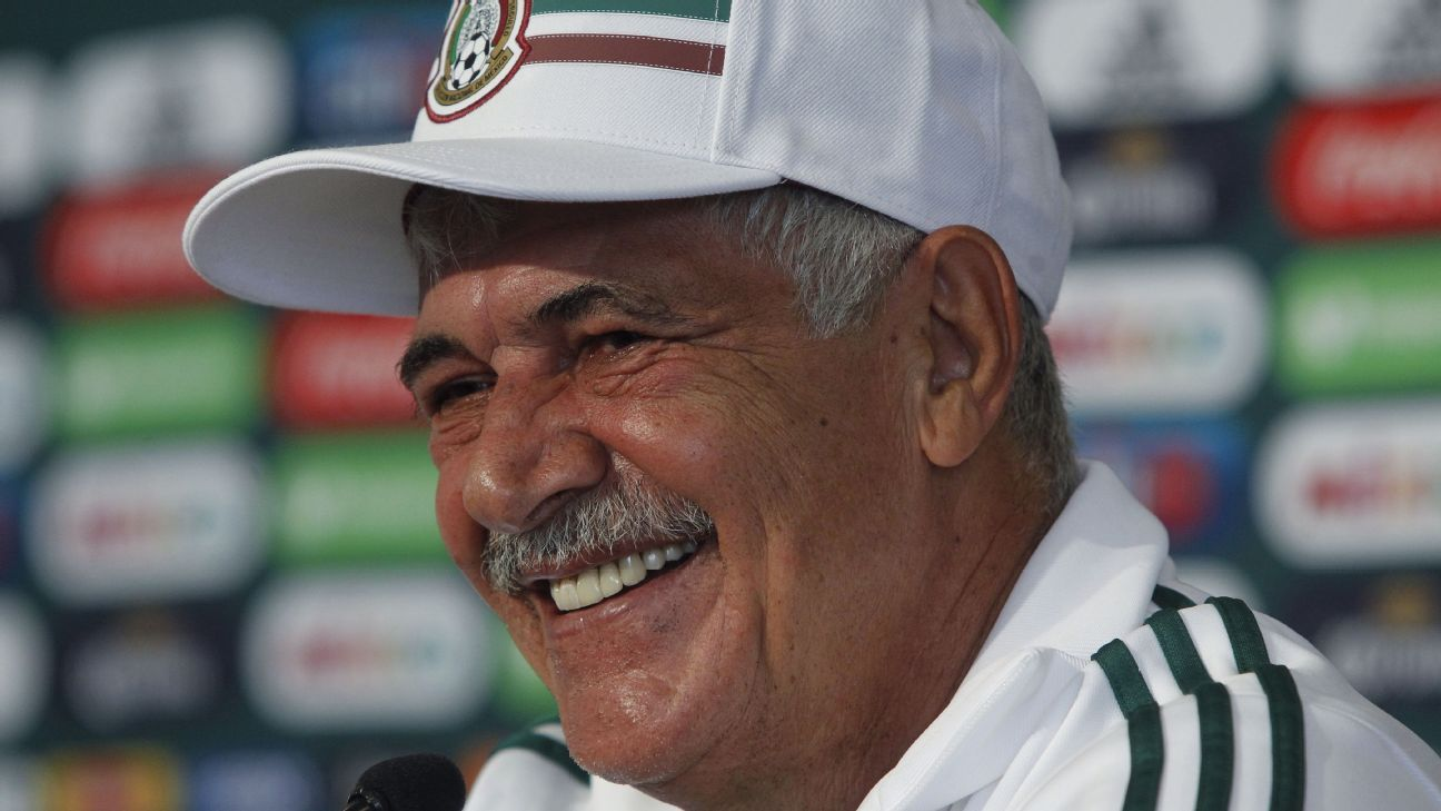 Mexican interim coach Ricardo