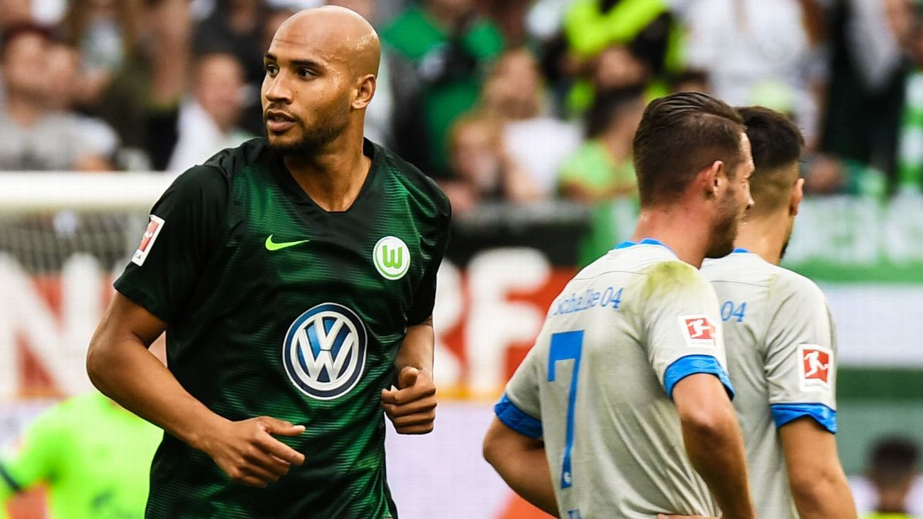 John Brooks has been ever-present for Wolfsburg this season.