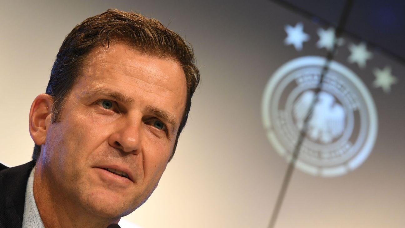 Germany general manager Oliver Bierhoff.