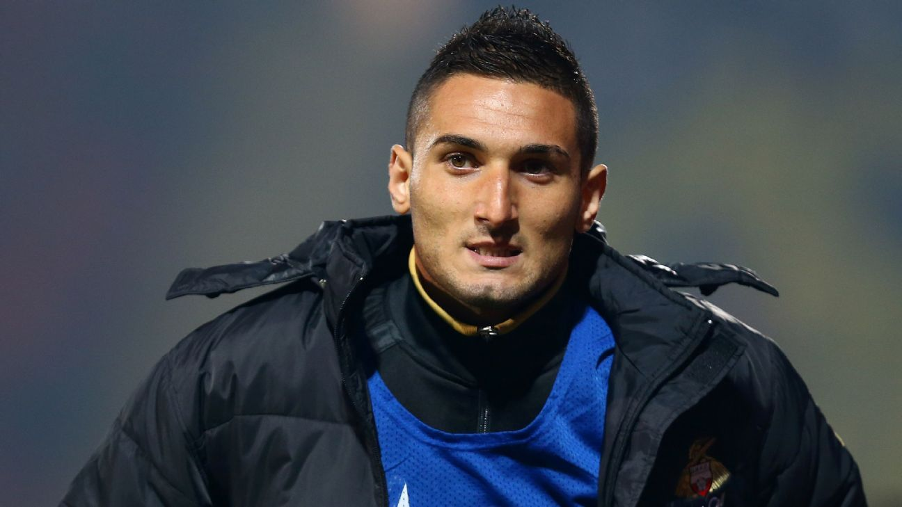 Federico Macheda has joined Panathinaikos