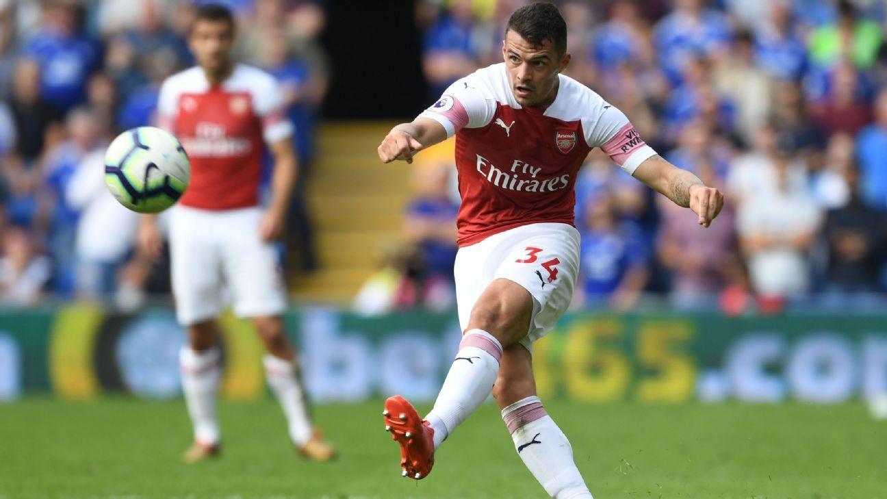 Granit Xhaka has polarised opinion since joining Arsenal.