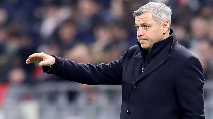 Bruno Genesio has come under early pressure at Lyon after the first four matches to start off the Ligue 1 season.