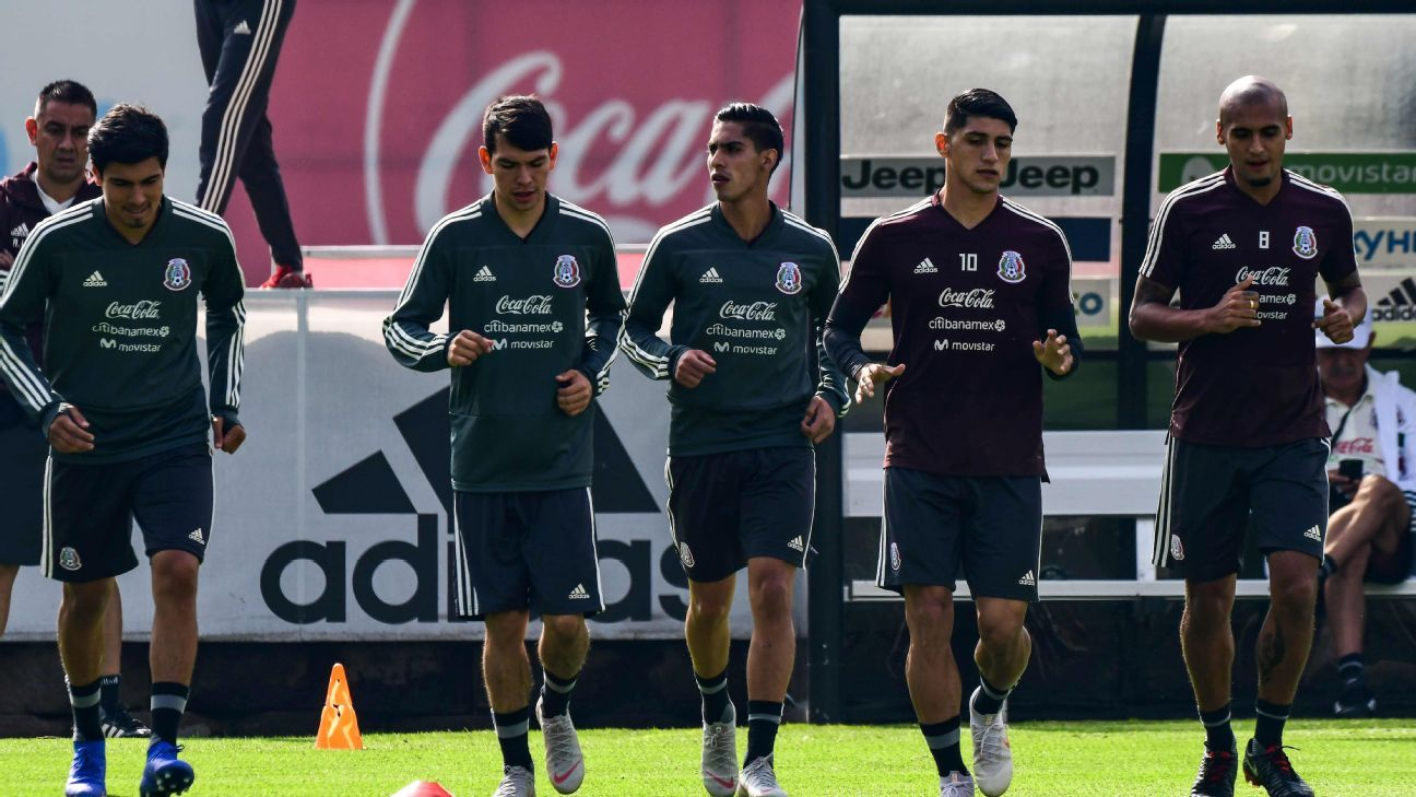 The Mexico squad for the two friendlies against Uruguay and the United States features up to nine players could make their national team debut.