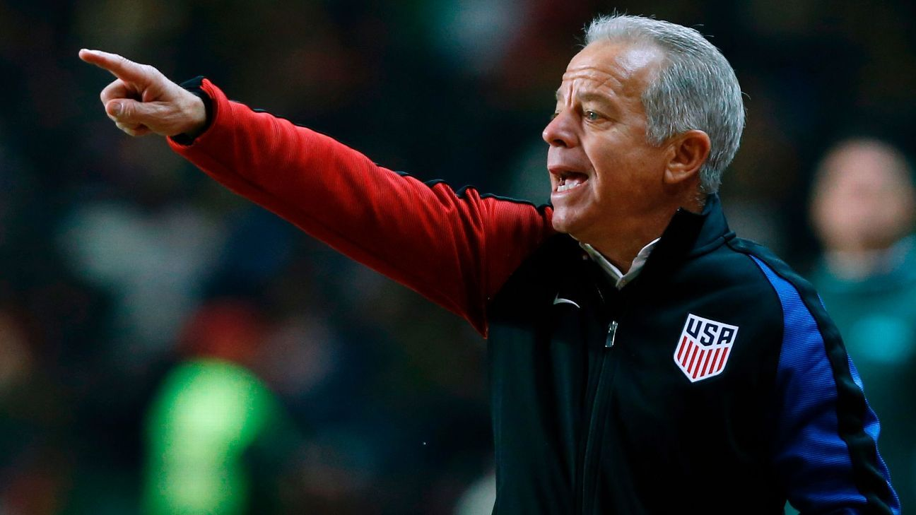 Dave Sarachan continues to serve as the U.S. manager on an interim basis -- a term that has now stretched to 10 months and at least be nine games.