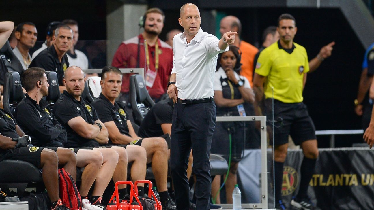 Columbus Crew boss Gregg Berhalter has many of the attributes that USSF general manager Earnie Stewart is reportedly looking for in a national team coach.