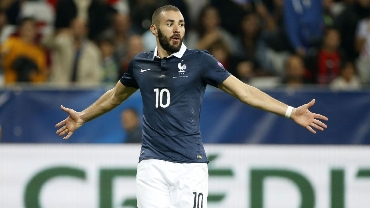 Karim Benzema has not played for France since October 2015