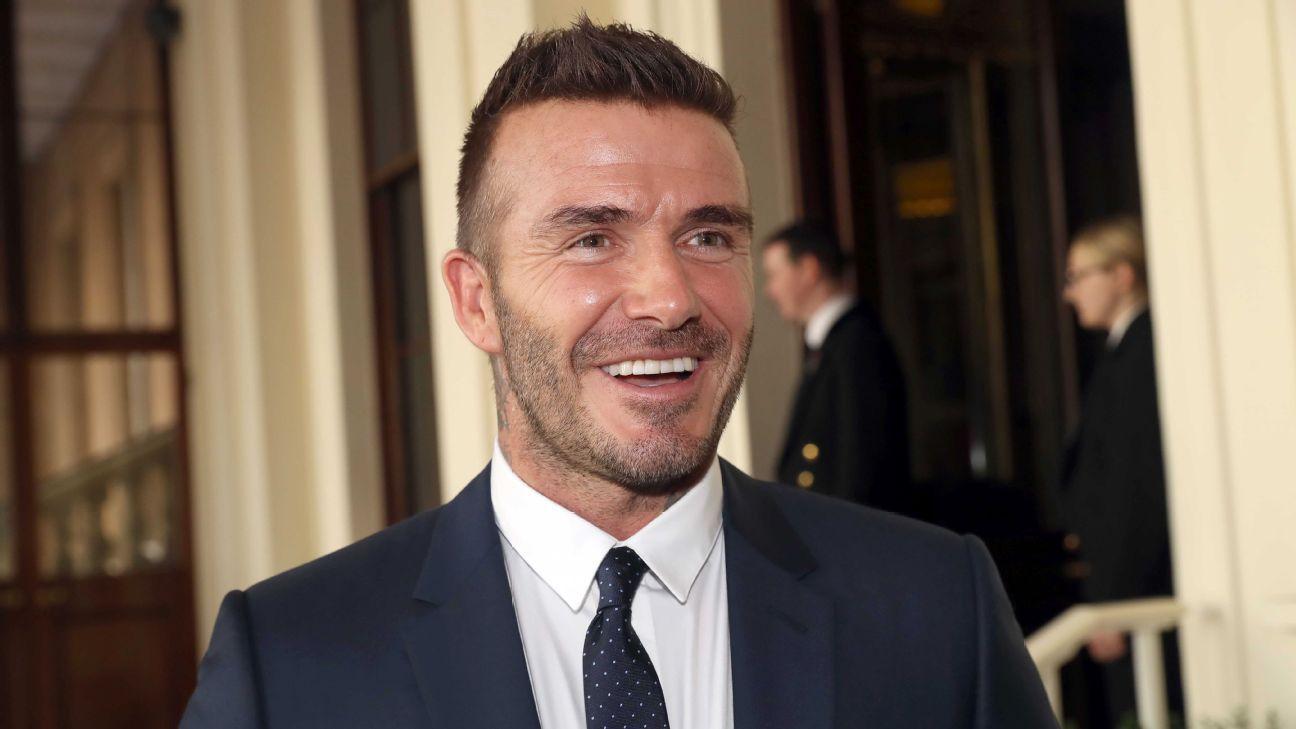 David Beckham's MLS team named Inter Miami CF ahead of 2020 season launch
