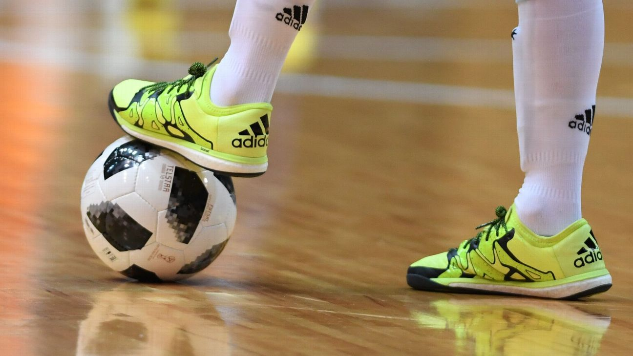 Futsal is played on an indoor court with a smaller ball.