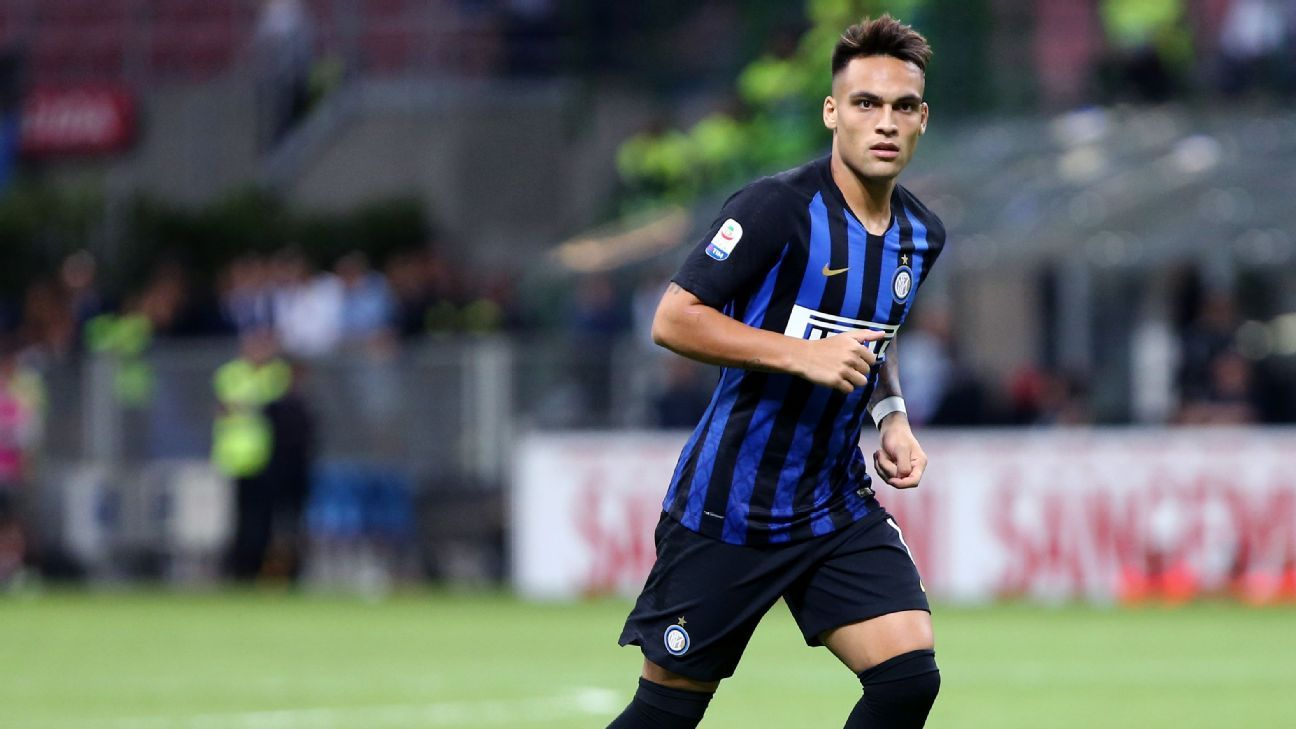 Lautaro Martinez during Inter Milan's match with Torino.