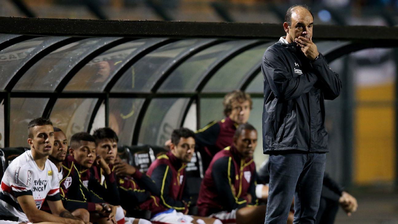 Ricardo as manager of Sao Paulo.