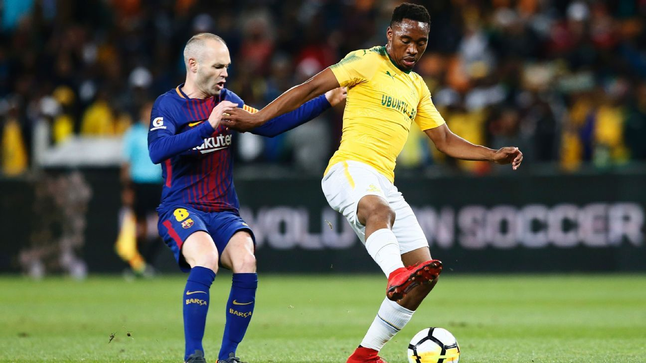 Will there be space for Sibusiso Vilakazi in South Africa's starting XI for the Africa Cup of Nations qualifier against Libya in Durban on Saturday?