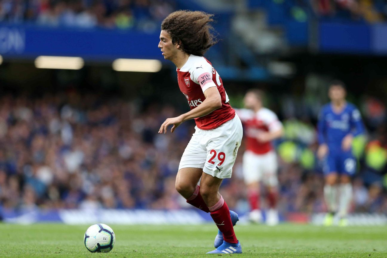 Matteo Guendouzi wants to be the next great French player for Arsenal.