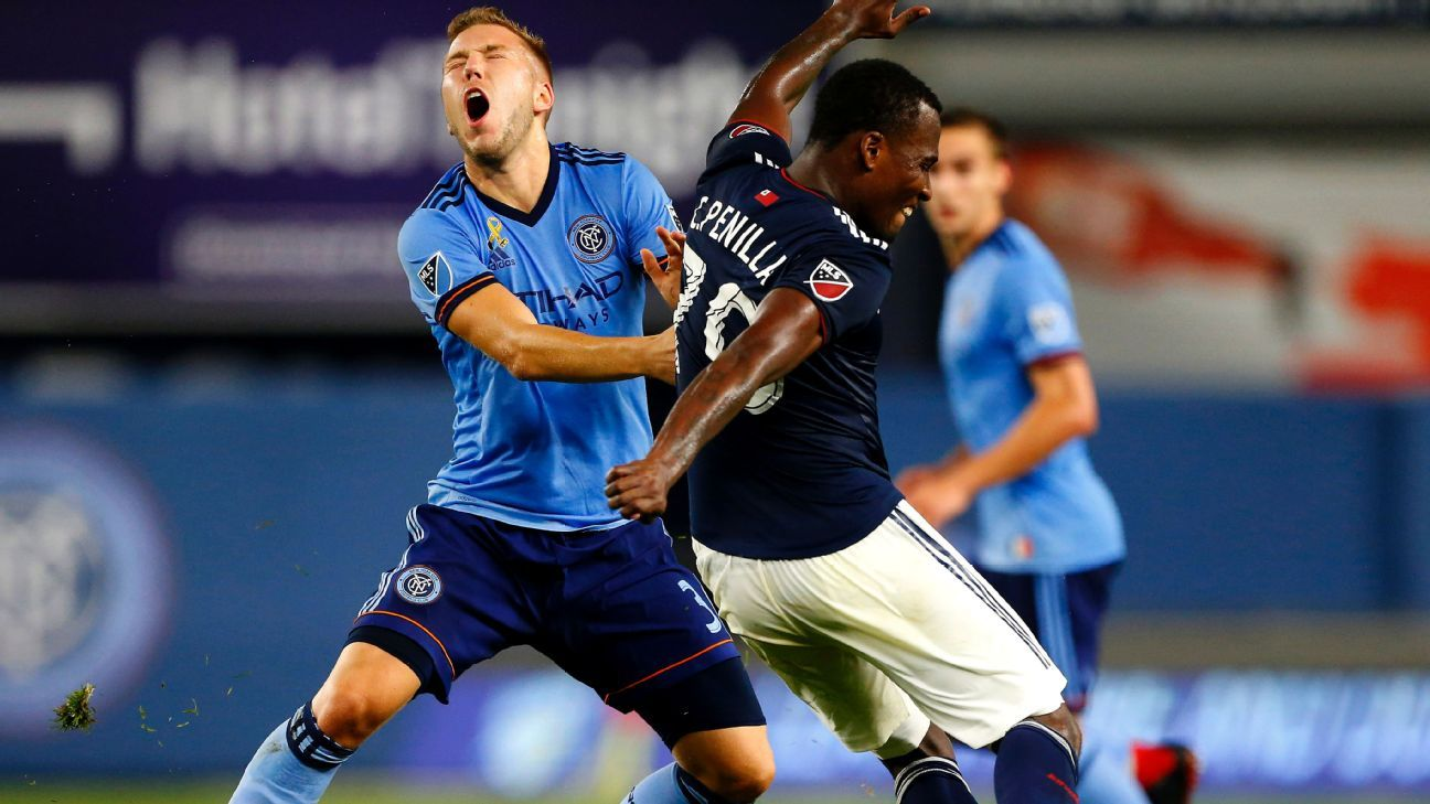 New England Revolution hand NYCFC its first home loss