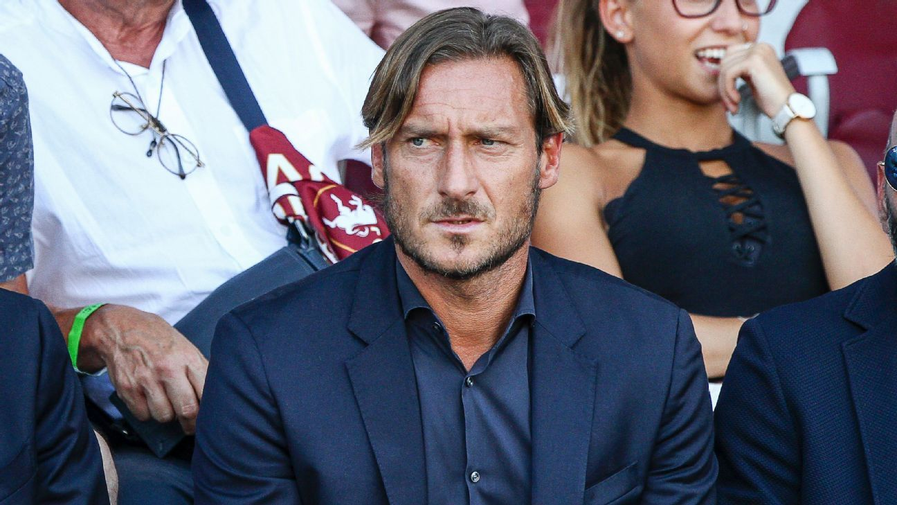 Roma director Francesco Totti
