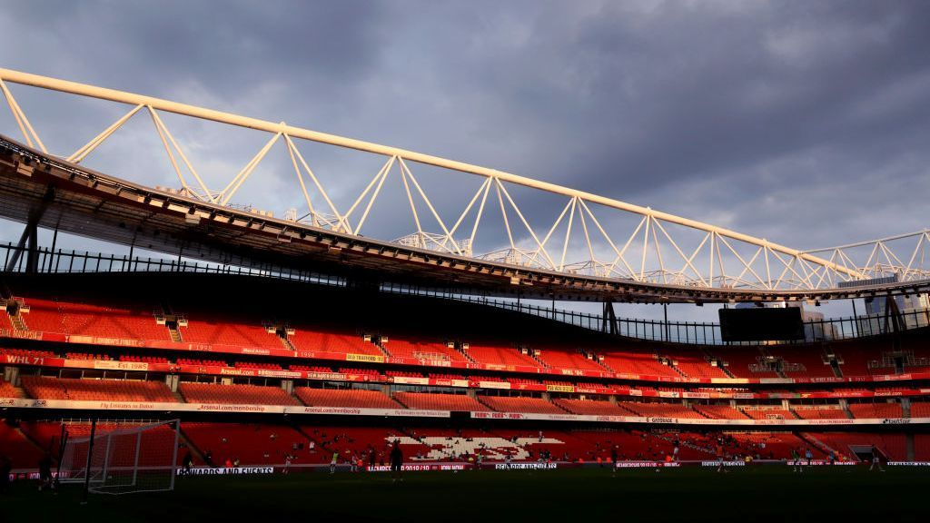 General view inside The Emirates stadium