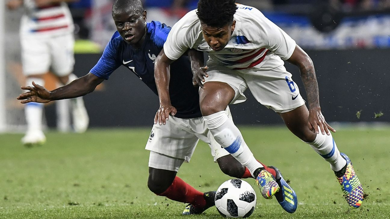 McKennie, right, will be one of the keys to the U.S. through at least the next World Cup cycle.
