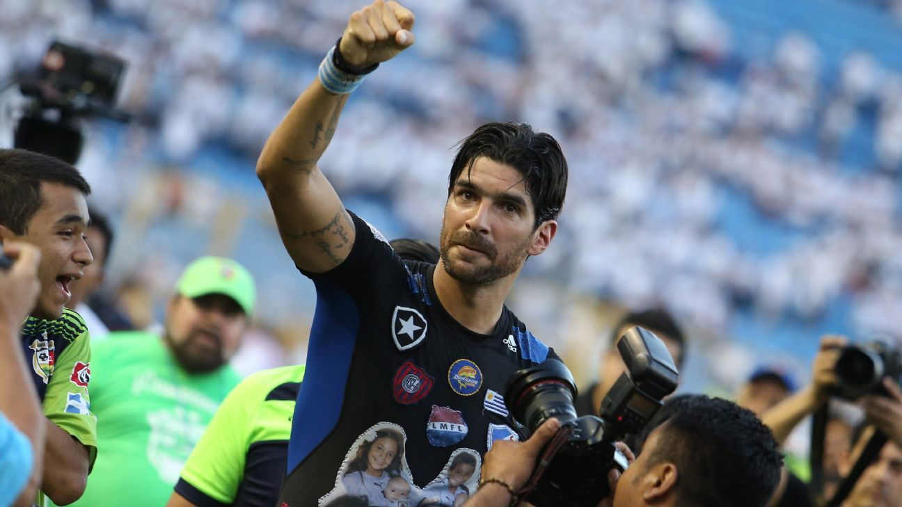 Sebastian Abreu had numerous stints with Mexican clubs and cemented himself as one of the best to ever play in the country after scoring 110 goals in league play.