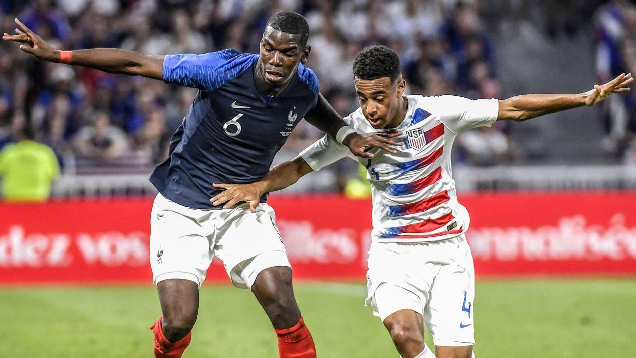 U.S. midfielder Tyler Adams impressed again, this time against star-studded France.