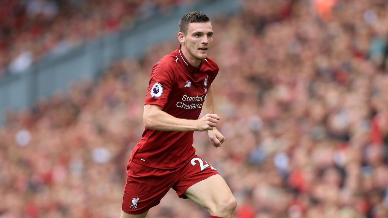 Andrew Robertson has become a key figure at Liverpool since joining from Hull City.
