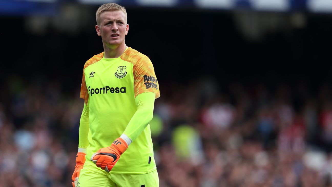 Jordan Pickford cemented his position as No. 1 for club and country last season.