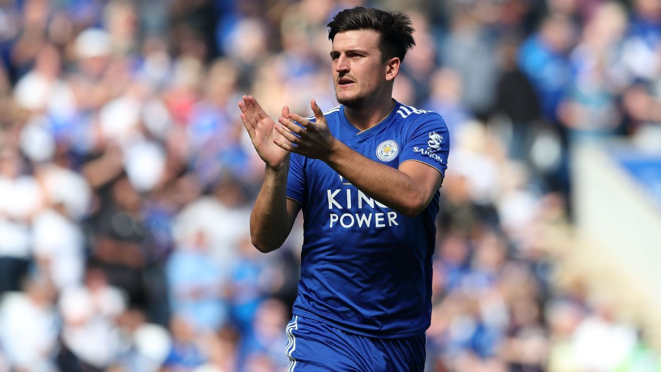 Harry Maguire signs new Leicester contract