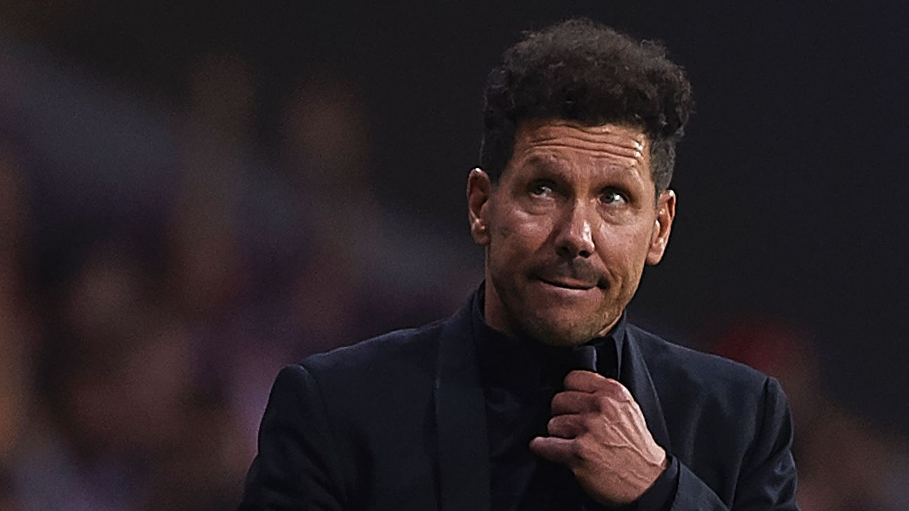 Atletico Madrid boss Diego Simeone