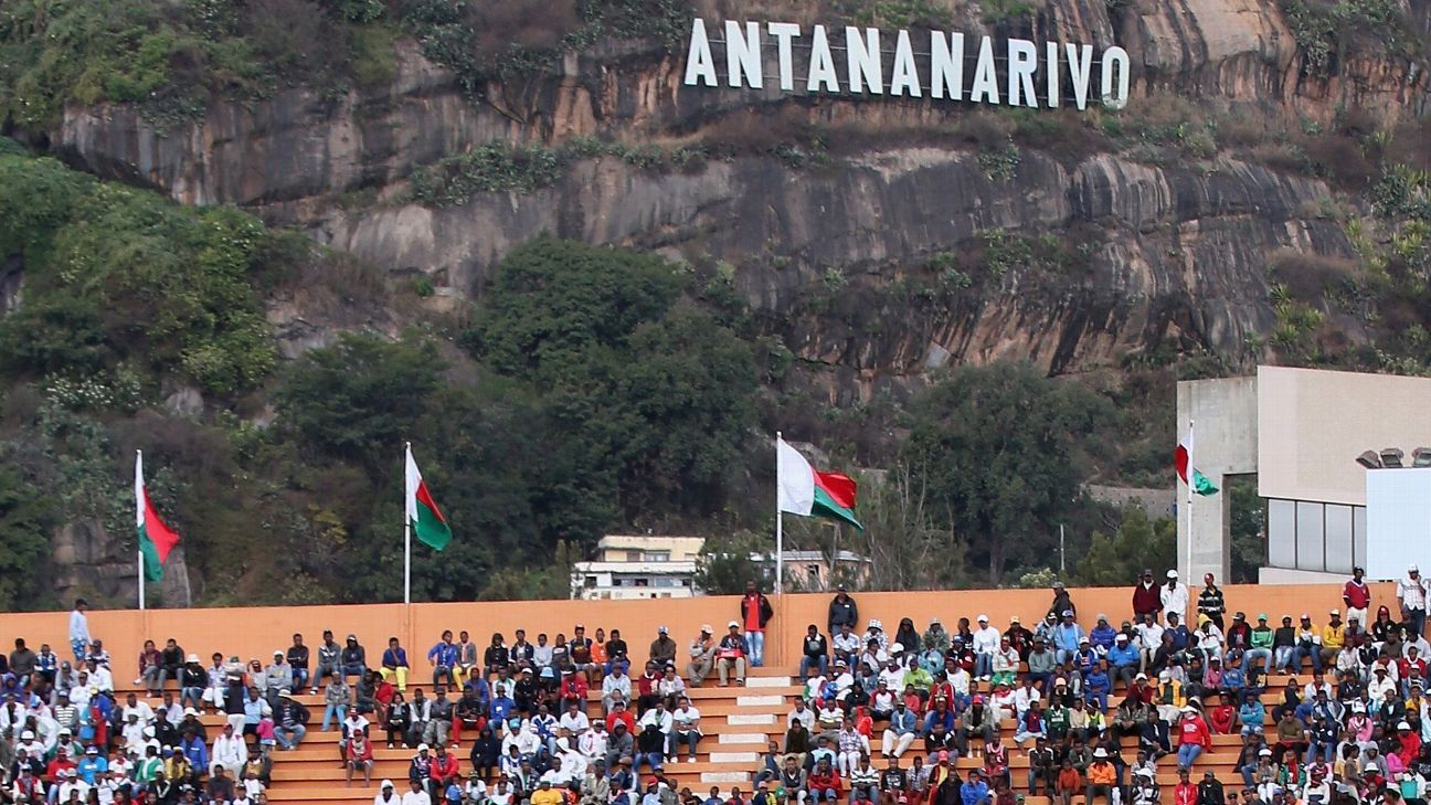 Mahamasina Stadium, Antananarivo, Madagascar