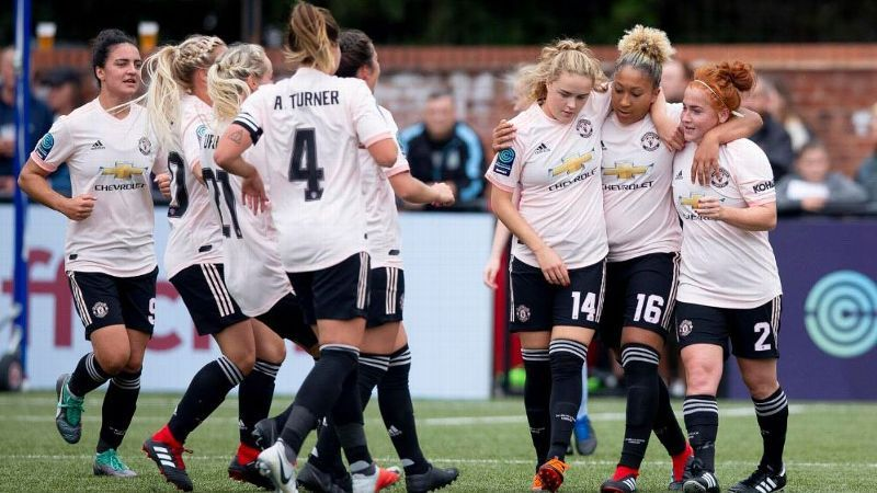 Manchester United Women enjoyed a thumping win over Aston Villa.