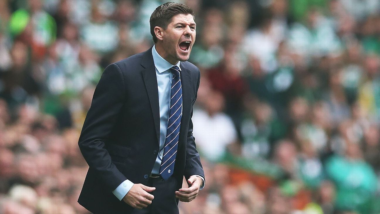 Steven Gerrard has lost just once since becoming manager of Rangers.