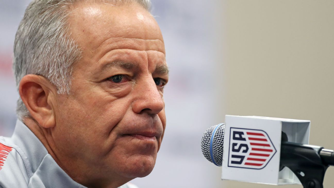 Sarachan's work as interim U.S. coach is on restoring their identity as a team, something he wants to see vs. Mexico.