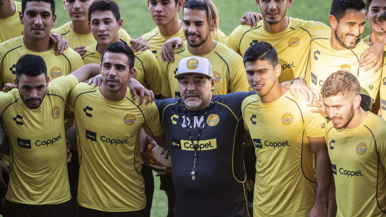 Diego Maradona's new job will be coaching Mexican second-tier club Dorados.