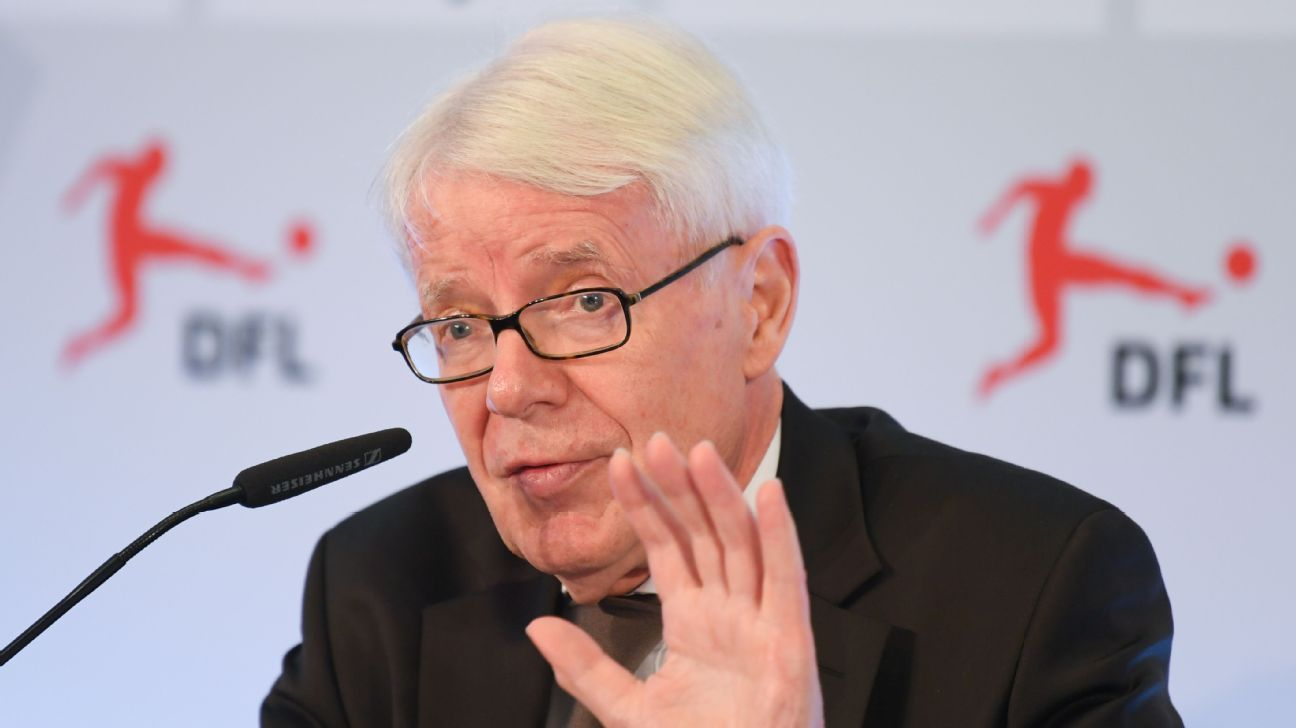 German football league president Reinhard Rauball.