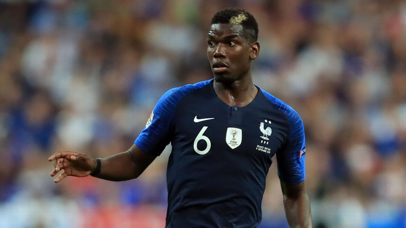 France's Paul Pogba: I purposely kept hairstyle 'low key' at World Cup