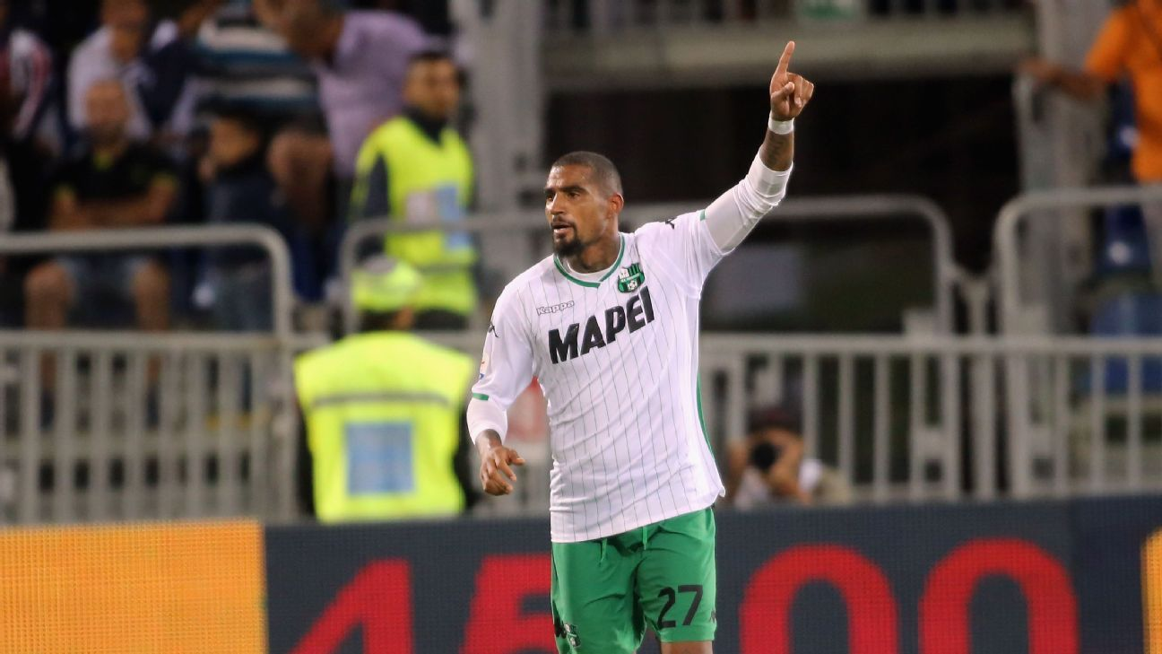 Sassuolo's Kevin-Prince Boateng.
