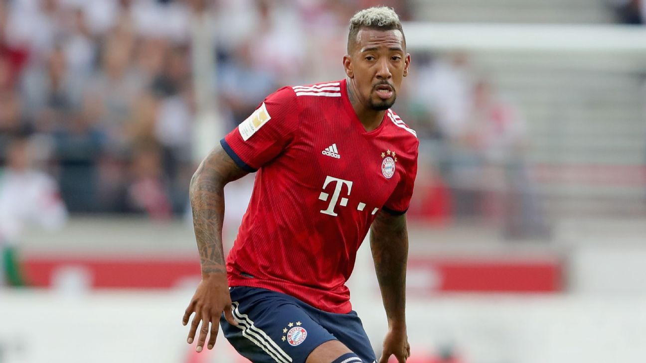 Jerome Boateng was linked with a move to Manchester United and Paris Saint-Germain from Bayern Munich.