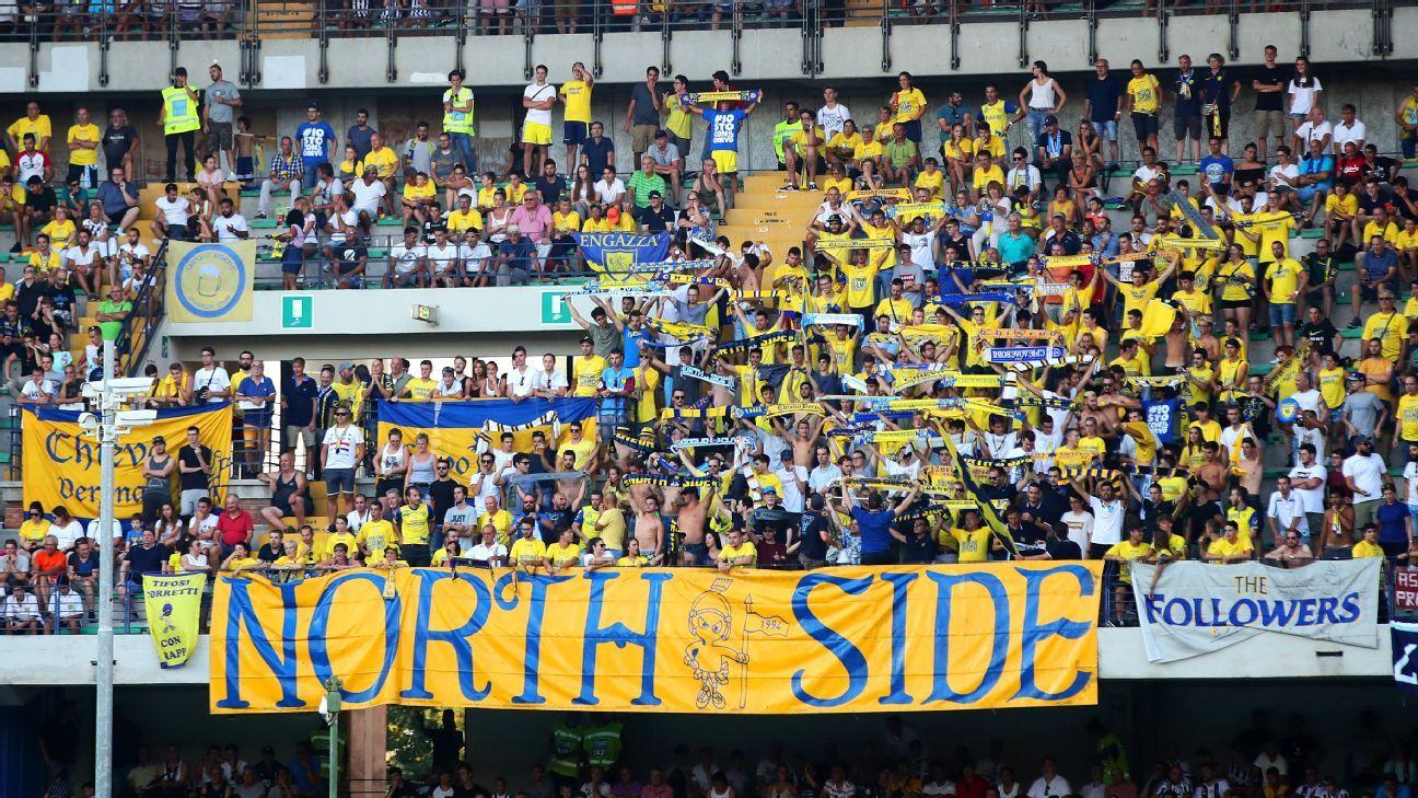 Chievo Verona fans