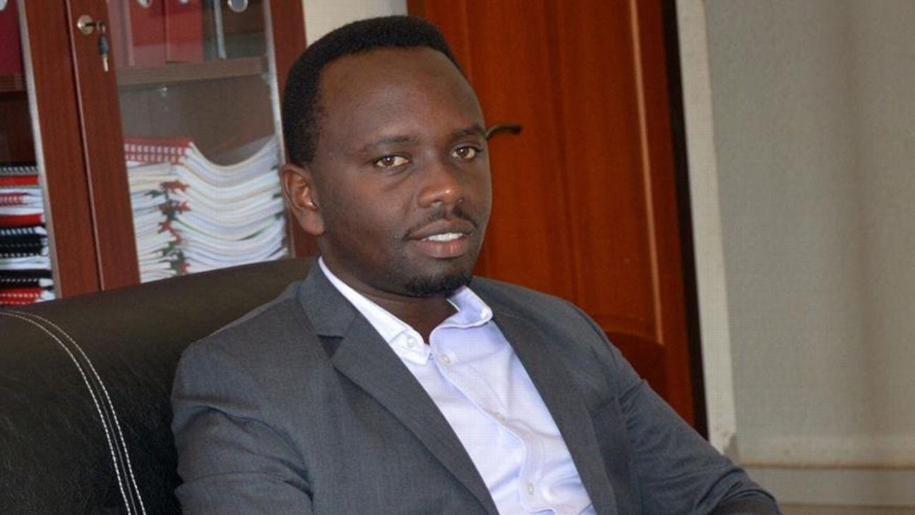 Regis Francois Uwayezu of the Rwanda Football Federation
