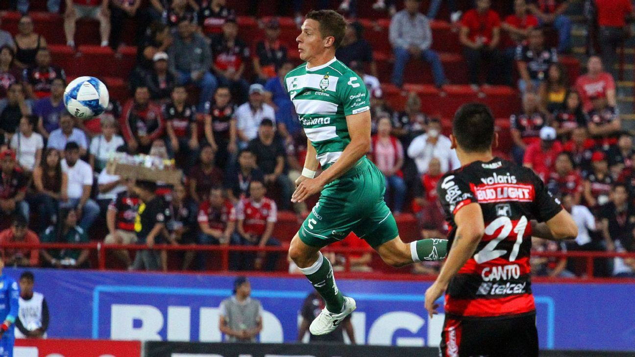 Julio Furch has picked up the slack for Santos Laguna during a campaign where the defending titleholders were expected to struggle.
