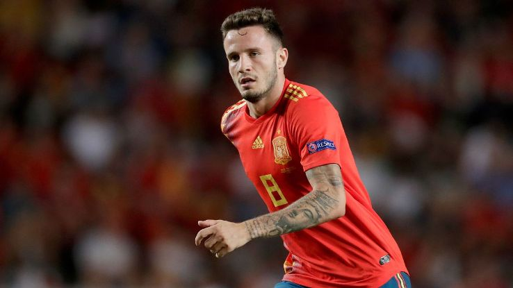 Saul's emergence as Spain's key in midfield isn't an accident or a mistake. He's earned the role.