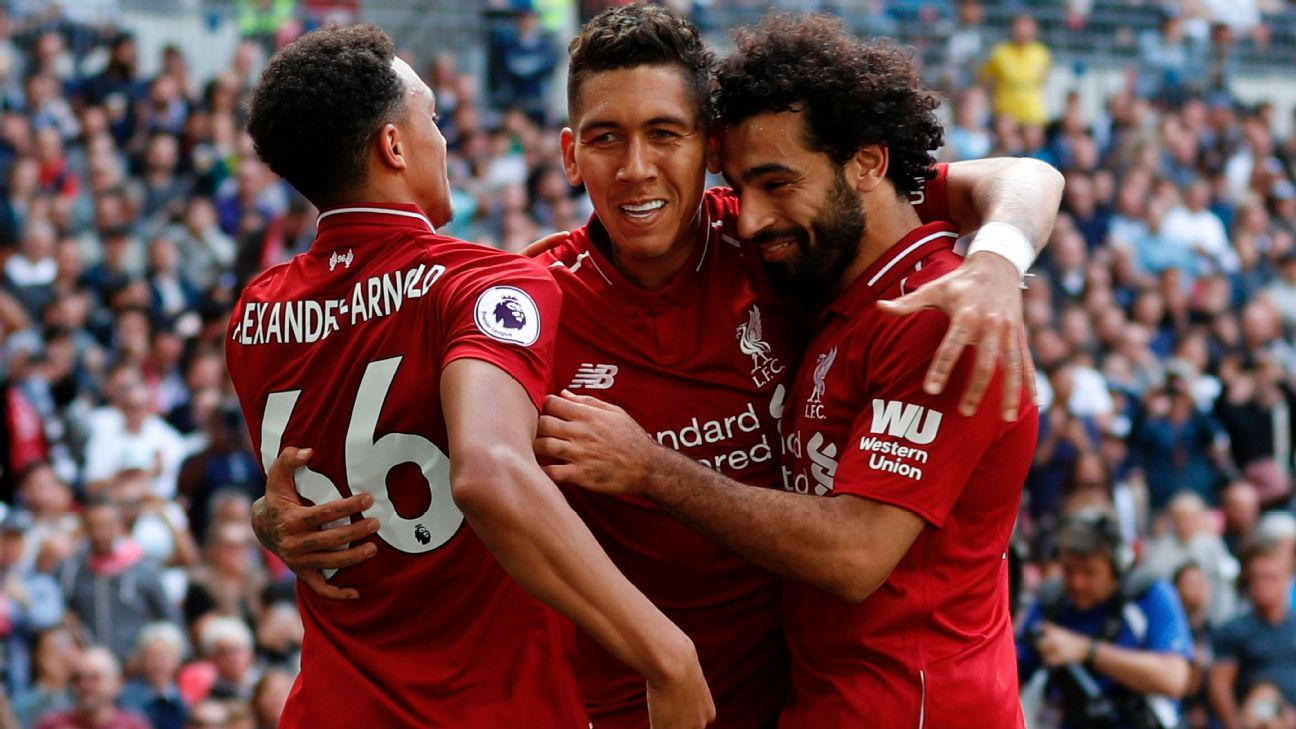 Liverpool enjoyed a fine afternoon at Wembley as they swept past Tottenham.